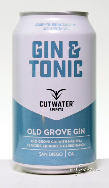 Cutwater Spirits Gin and Tonic