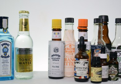 Gin and Tonic With Bitters