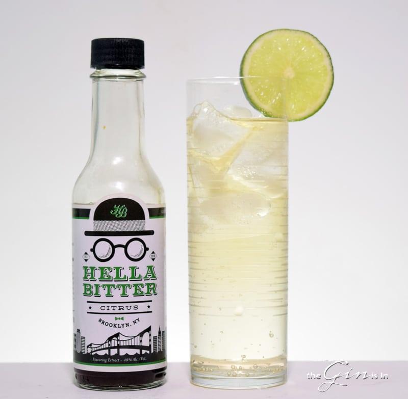 Hella Bitter Gin and Tonic