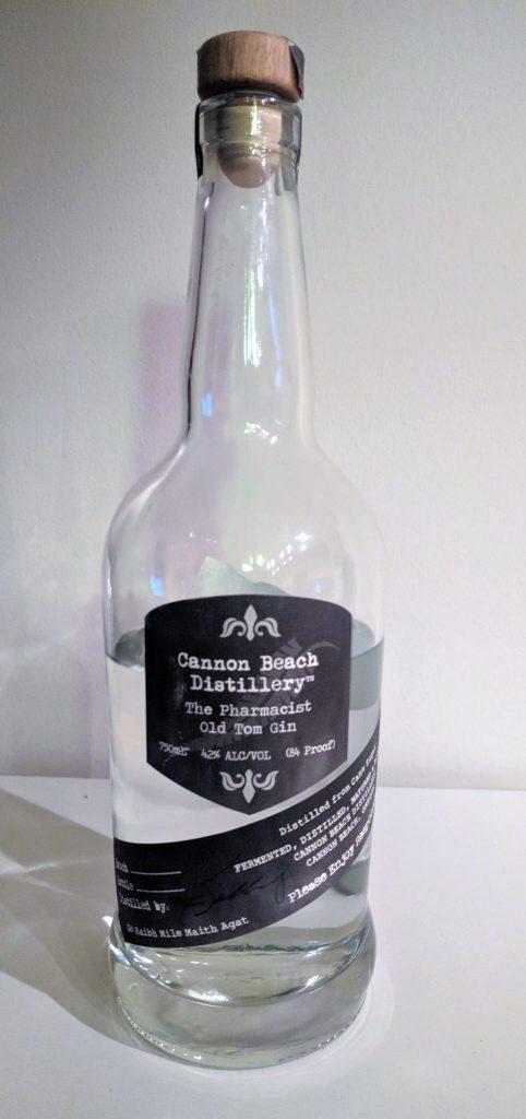 Cannon Beach Distillery The Pharmacist Old Tom Gin