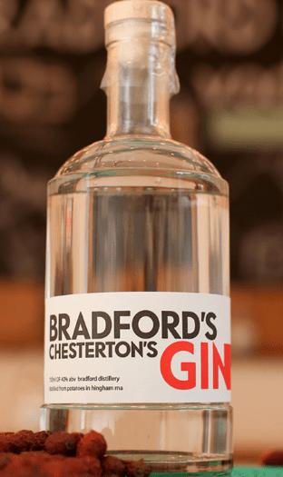 Bradford's Chesterton Gin by Bradford Distillery