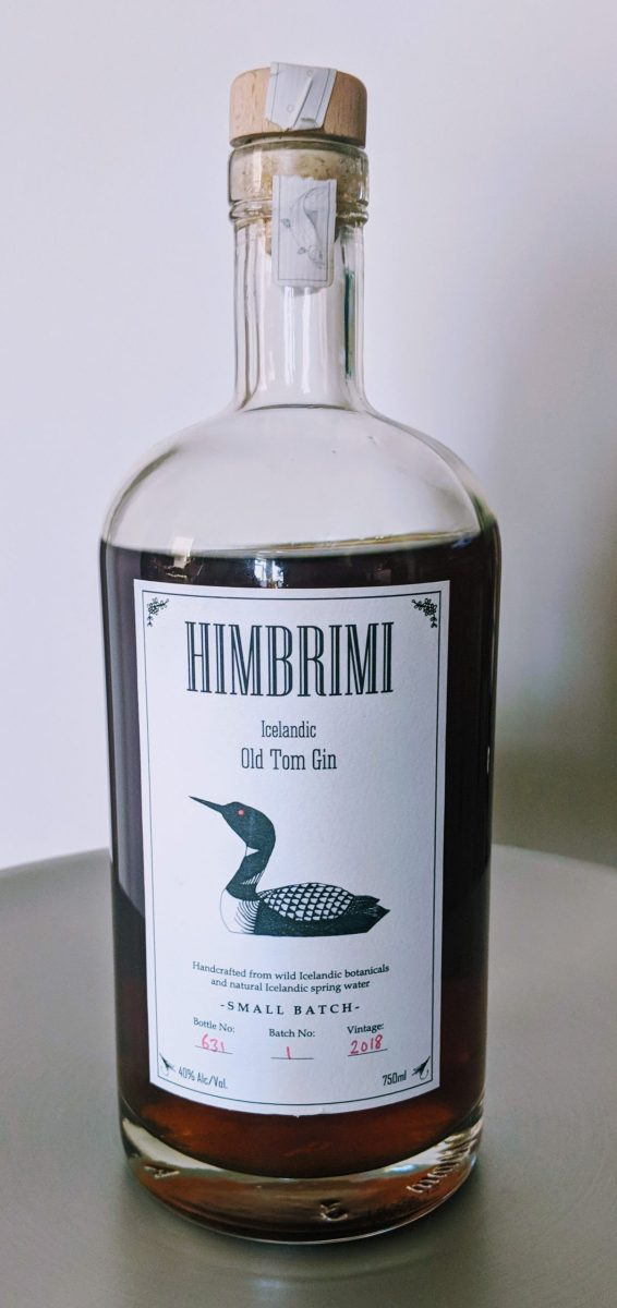 Himbrimi Icelandic Style Old Tom Gin Review And Rating The Gin Is In