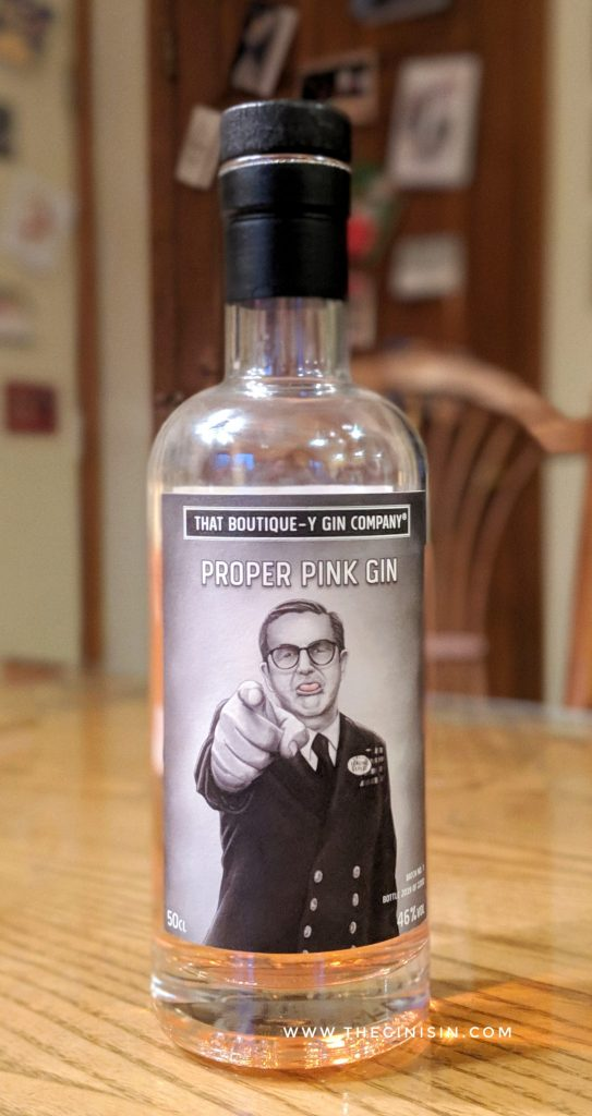 Proper Pink Gin
