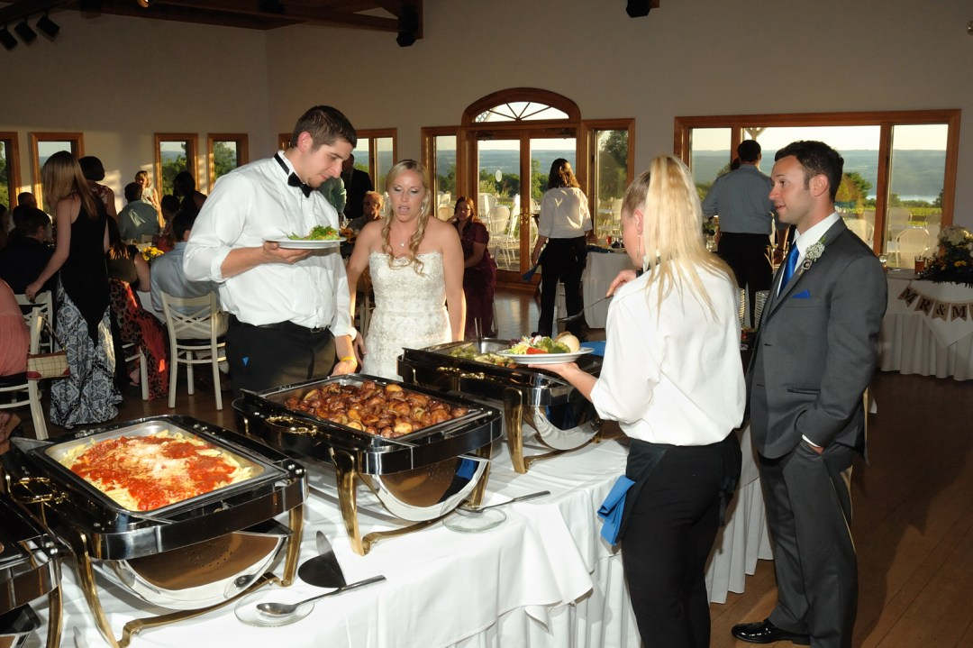 Buffet Line - Photo Credit Baker Photography