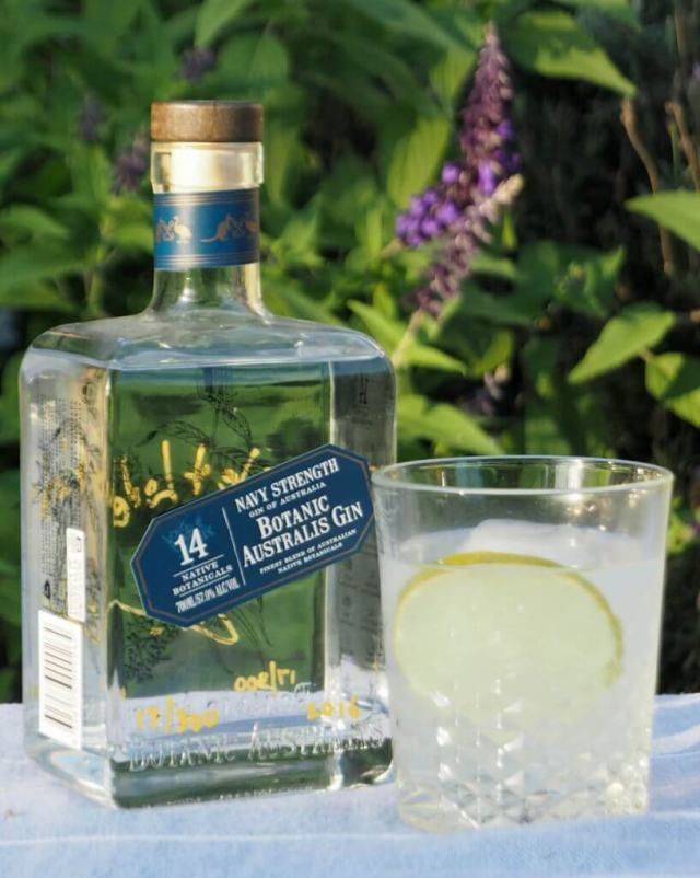 Botanic Australis Navy Strength Gin and Tonic