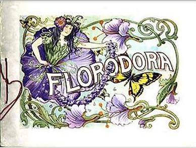 Florodora Souvenir program 1900