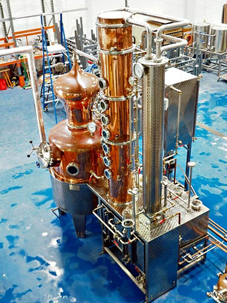 Manly Spirits gin still