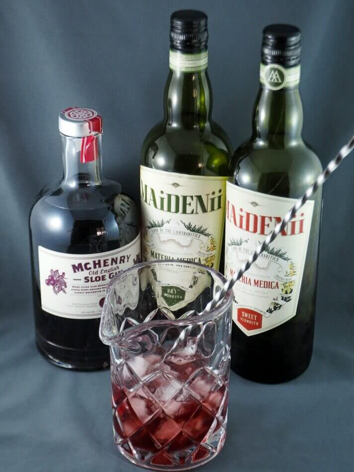 Sloe Gin Martini