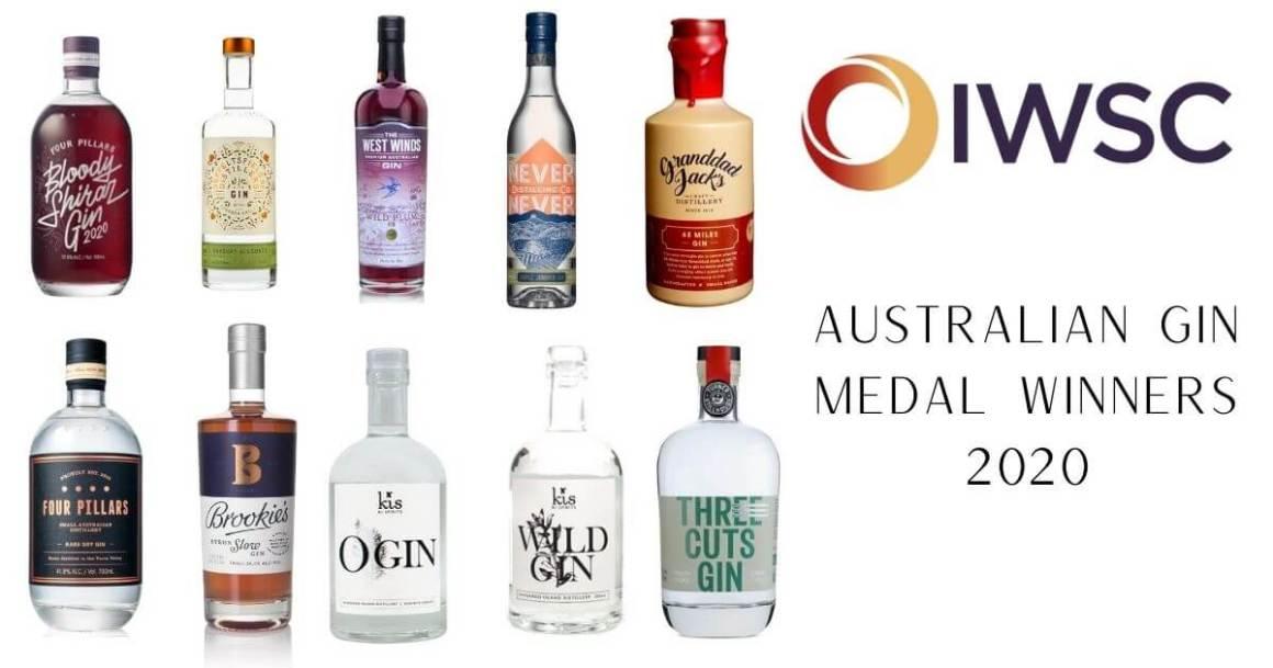 IWSC Results 2020 ~ Australian Gin Medal Winners