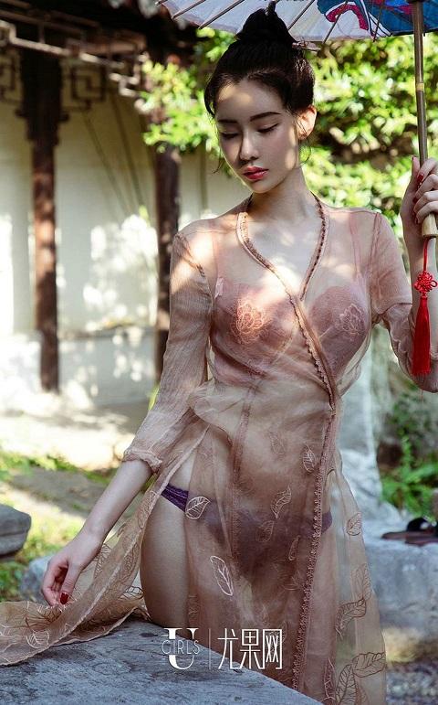 Irene – Meng Qi Qi nude ảnh khiêu gợi sexy khỏa thân lam tinh