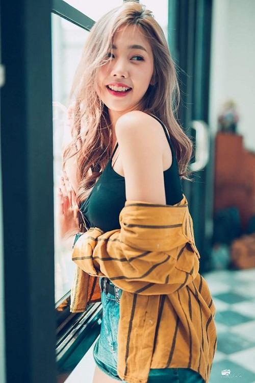 Nilawan Iamchuasawad Thai model hot girl sexy asian gái đẹp, gái xinh, giải trí