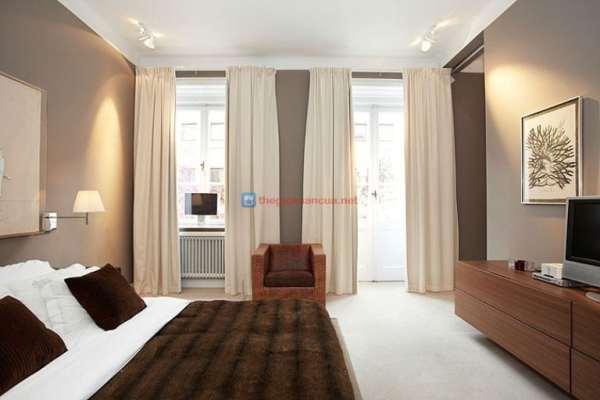 Rèm cửa phòng ngủ chống nắng