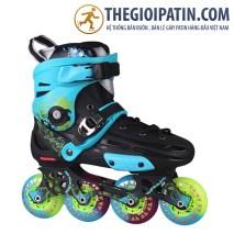 Skates World X6 Xanh Đen