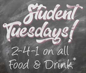 Student Tuesdays at the Gipsy Queen