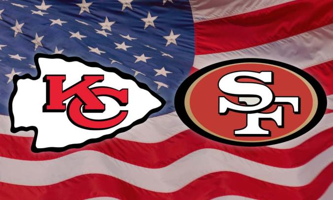 Kansas City Chiefs and San Francisco 49ers battle it out in Super Bowl 54. Watch live at the Gipsy Queen