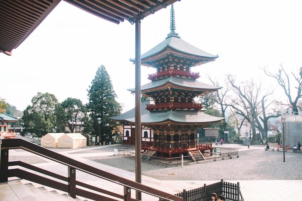 Narita temple