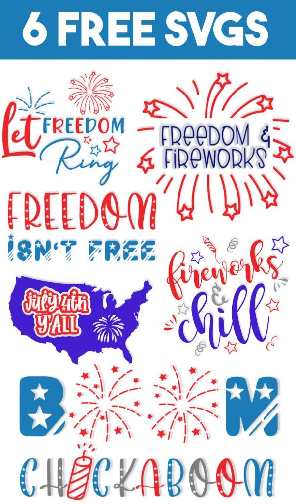 4th Of July Svg Free : Cricut, Creative