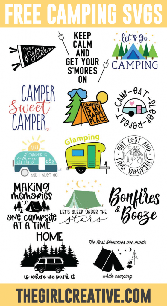 Rv Svg : Camping, Files, Creative