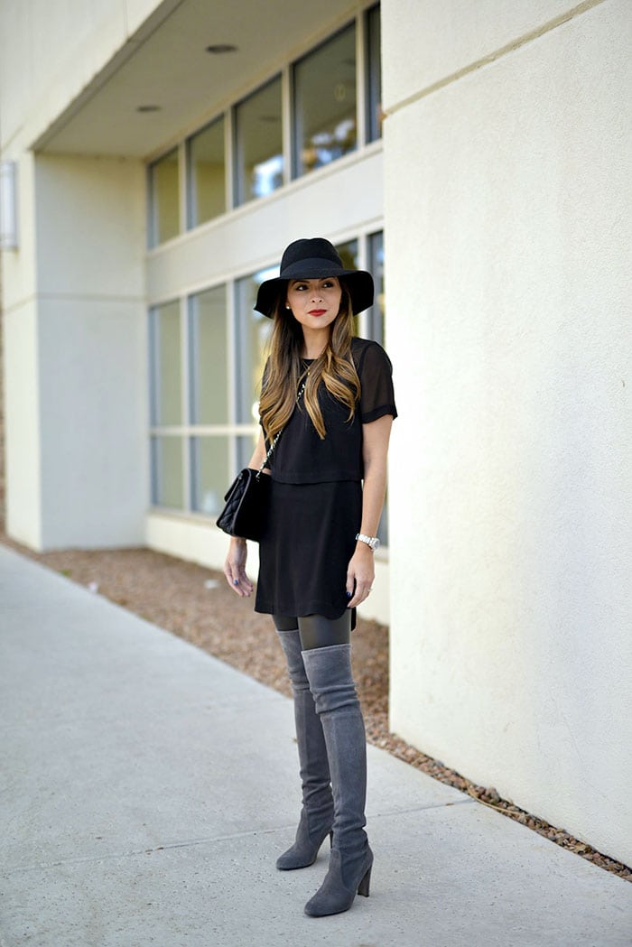 LBD Over The Knee Boots