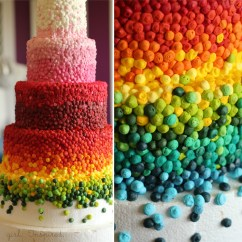Kitchen Aid Mixing Bowls Curtains Ideas Six Layer Rainbow Cake - Girl. Inspired.