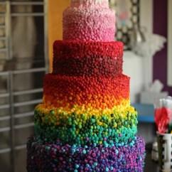 Kitchen Aid Mixing Bowls Bronze Lighting Six Layer Rainbow Cake - Girl. Inspired.