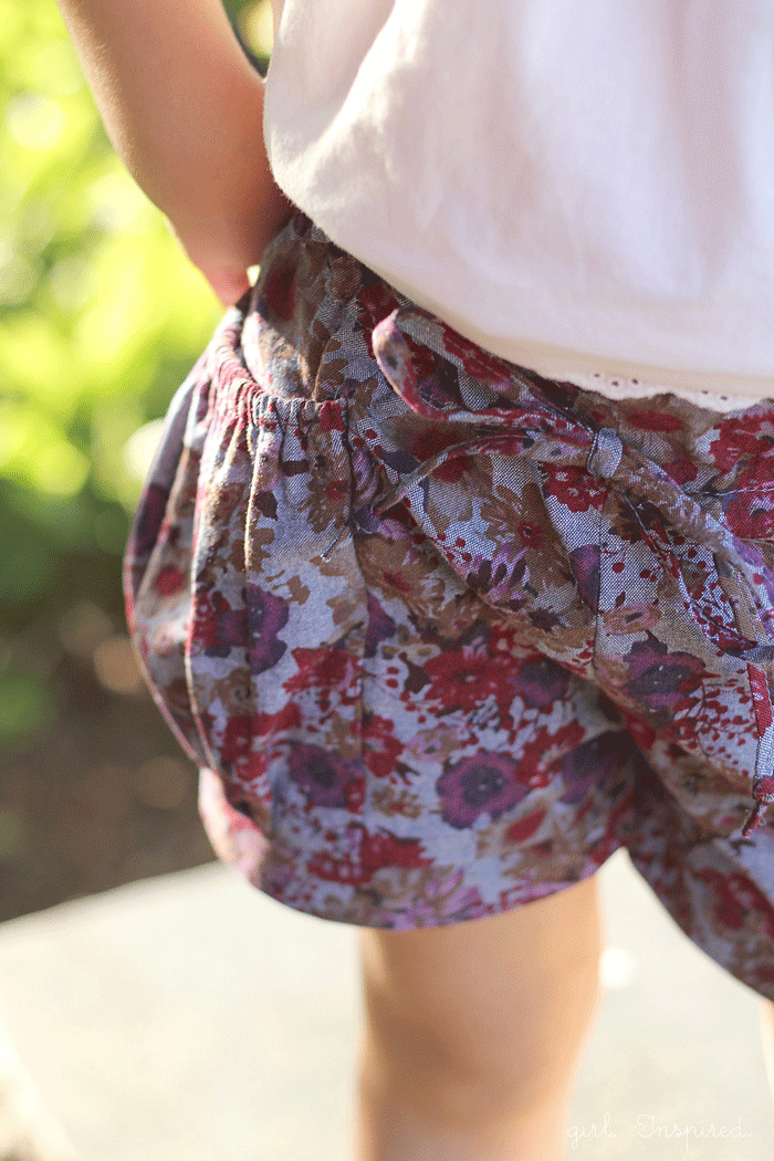 Bubble Pocket Shorts Pattern Review | girl. Inspired.