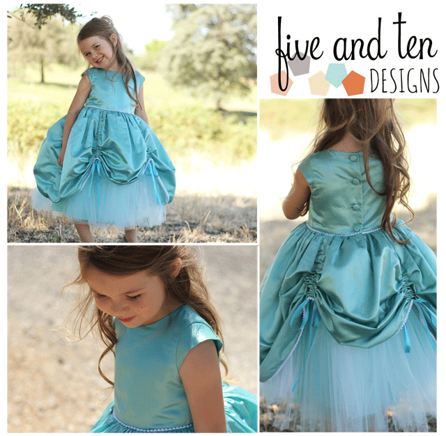 Princess Gown Sewing Pattern