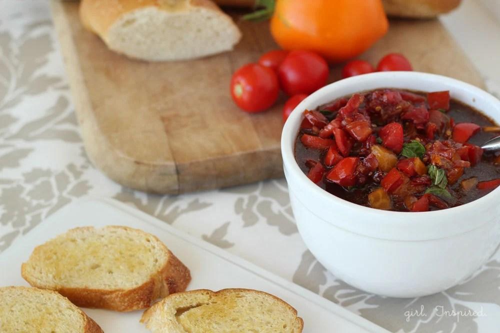Make Bruschetta at home