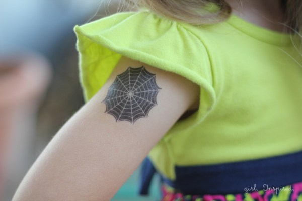 diy temporary tattoos - girl. inspired