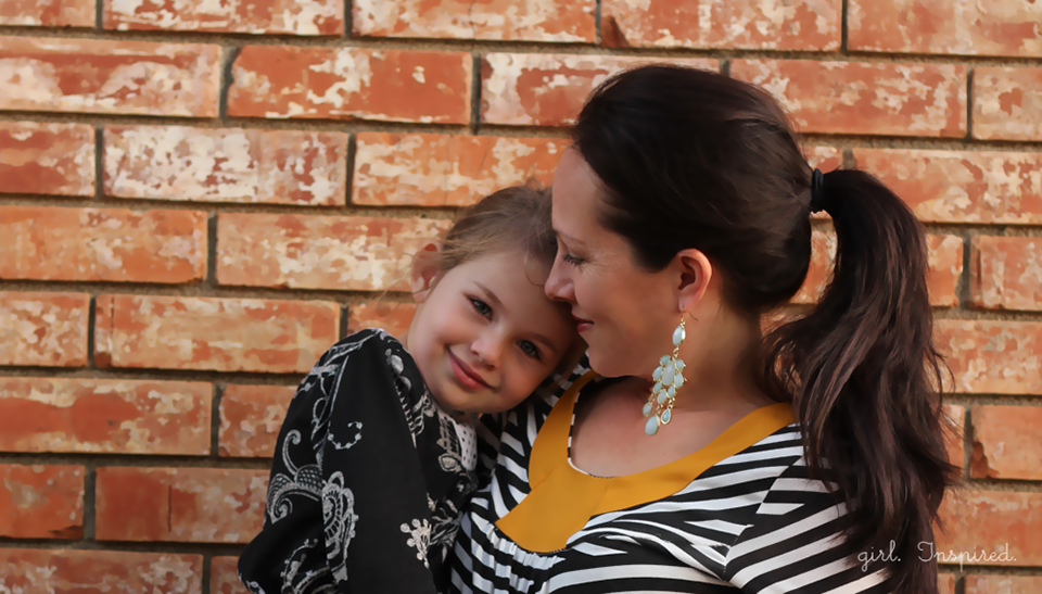 Cute sewing patterns for mom and daughter!