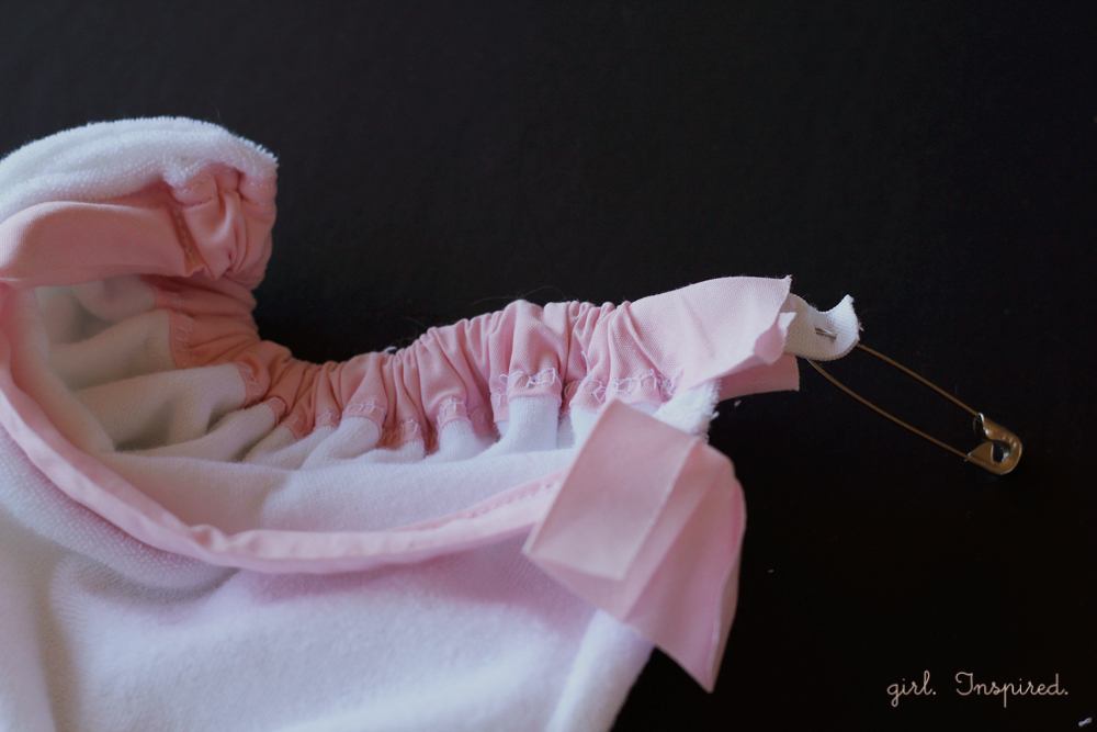 How to make a spa towel robe- cute for spa theme birthday parties!