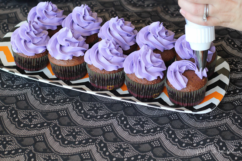 Witch Cupcakes and Bubbly Witch's Brew