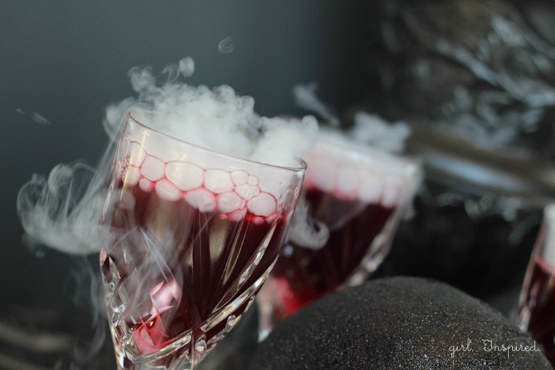 Make Witch's Brew with Dry Ice