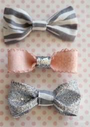 cute little hair bows - girl