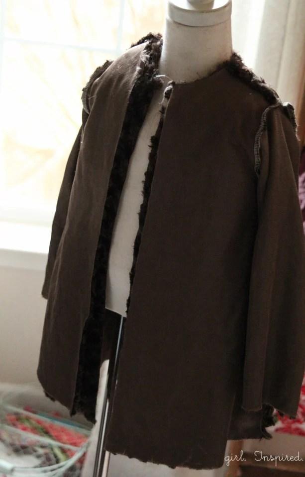Free Girls Jacket Pattern and Tutorial