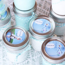 Olaf Labels for Frozen Birthday Party