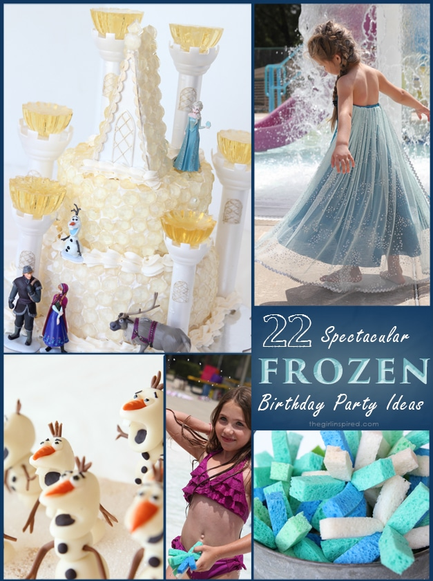 so many FROZEN Birthday Party ideas - you've got to see these!