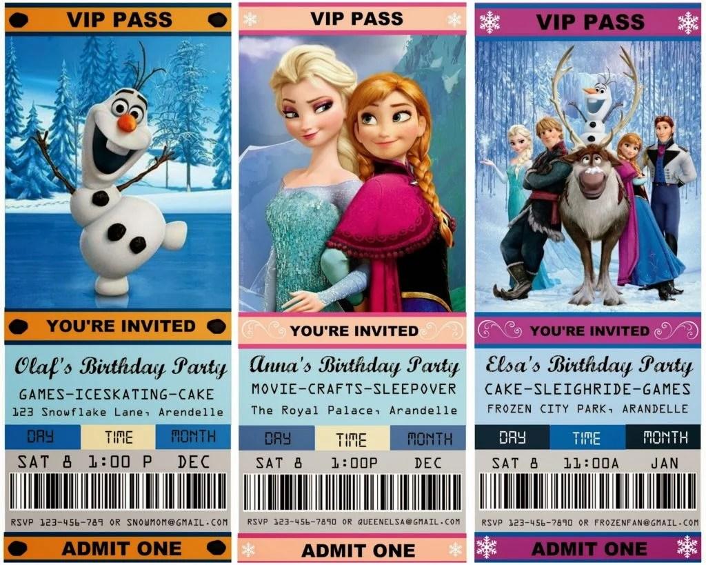 spectacular frozen birthday party ideas
