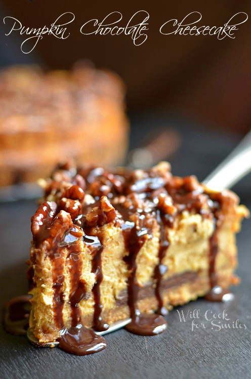 Pumpkin-Chocolate-Cheesecake