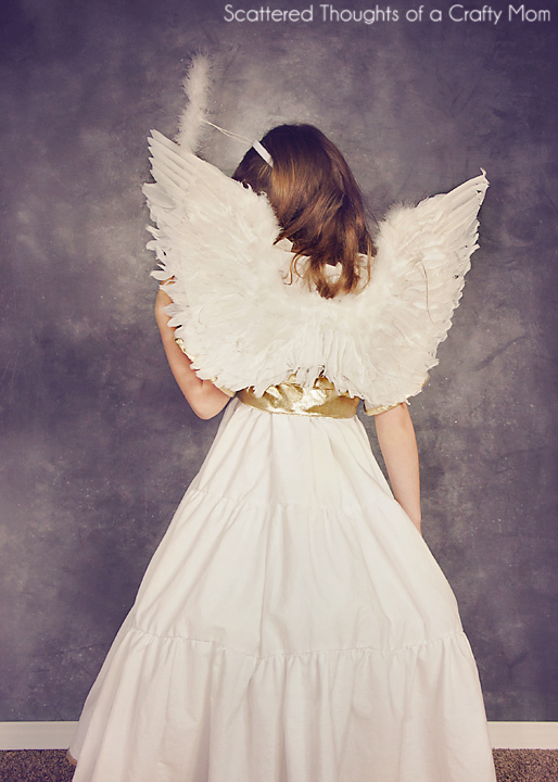 DIY Angel Costume