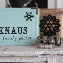 Easy Personalized Photo Albums - such a cute and simple gift!
