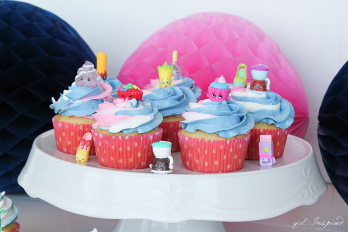 Shopkins Cupcakes Girl Inspired