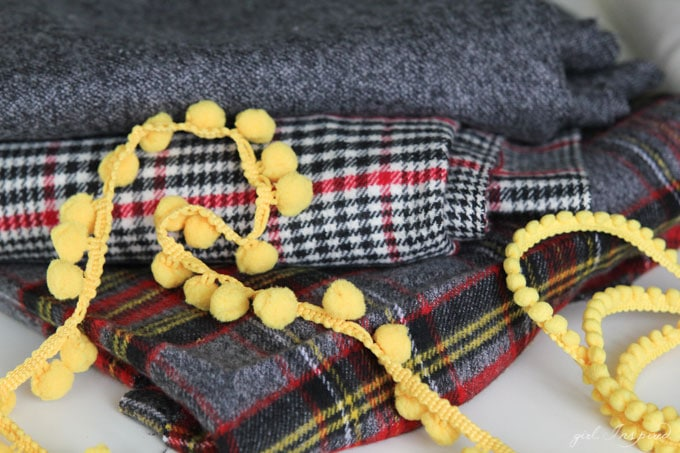 Get ready for cooler weather with these simple DIY flannel blankets!