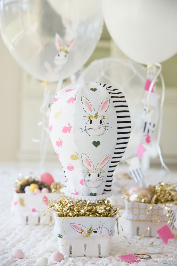 Hot Air Balloon Easter Baskets