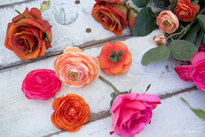 Craft this vibrant and fun Dia de Los Muertos Wreath!