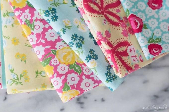 Dainty Darling Fabric Line