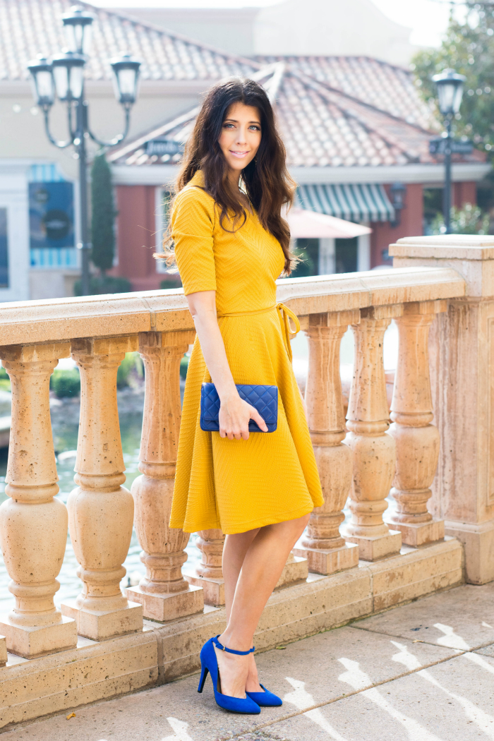the perfect yellow dress