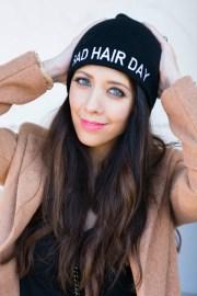 bad hair day . girl