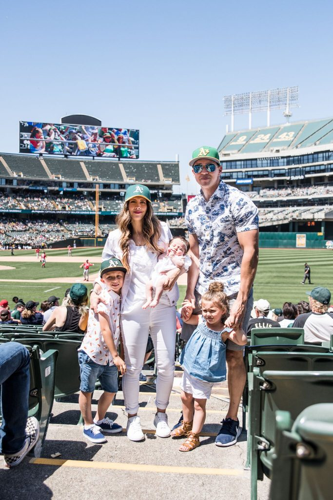 Baseball Game  Summer looks with Old Navy  The Girl in