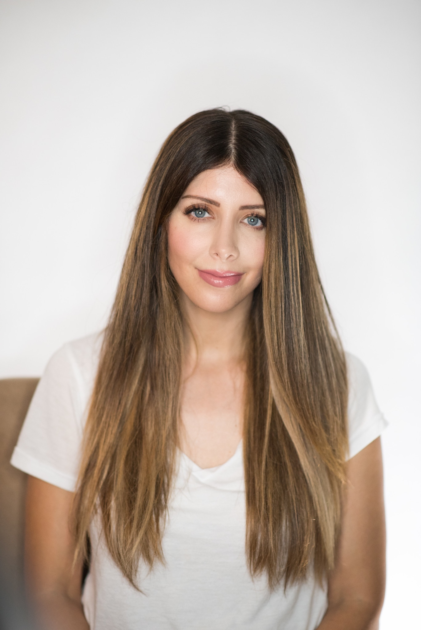 Silky Smooth Straight Hair With Volume The Girl In The